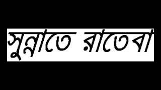 Bangla Waz Mahfil New Sunnate Rateba (12) By sheikh Motiur Rahman Madani