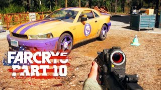 CAR CUSTOMIZATION - Far Cry 5 - Part 10 (Let's Play / Walkthrough / PS4 Pro Gameplay)