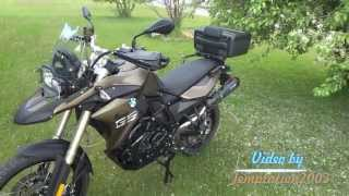 5. 2013 BMW F800GS Walkaround AFTER Accessories