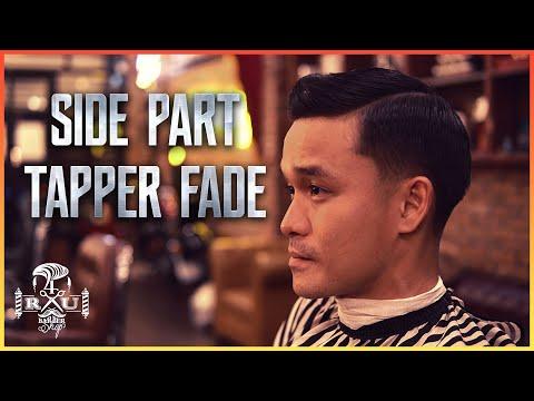 Hướng Dẫn Cắt SIDE PART TAPER FADE CLASSIC - 4Rau Barber Shop | Kiểu tóc nam đẹp