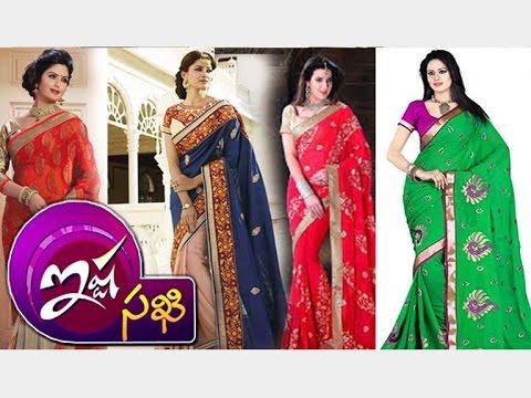 Latest-Collection-Of-Pattu-Designer-Georgette-Sarees-Ista-Sakhi-Vanitha-TV