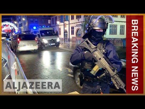 🇫🇷Strasbourg shooting: At least three dead, gunman at large | Al Jazeera English