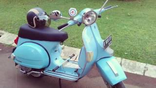 9. Vespa px 150 Excell 96