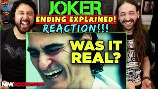 JOKER Ending Explained! Hidden Evidence of Final Twist Revealed! - REACTION!!! by The Reel Rejects