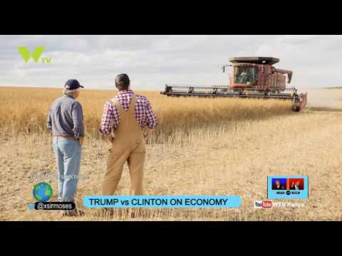 Global Perspectives: Trump vs Hillary On US Economy