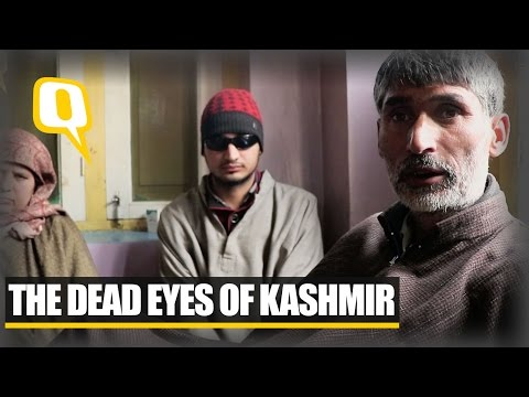 The Quint: The Dead Eyes of Kashmir: Pellet Victims share their stories
