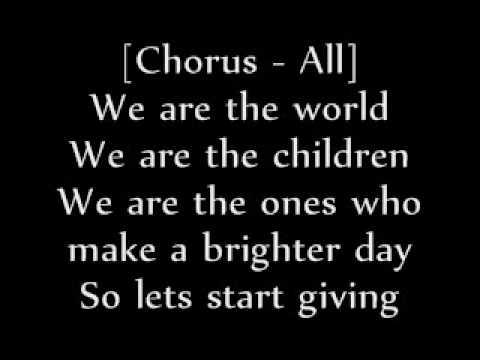 We Are The World 25 For Haiti [Lyrics]