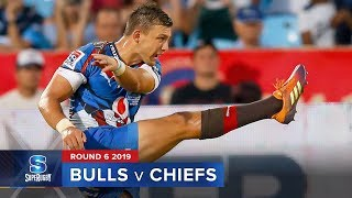 Bulls v Chiefs Rd.6 2019 Super rugby video highlights | Super Rugby Video Highlights