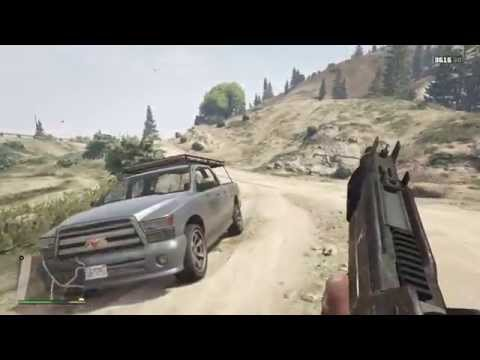 Gta 5 - No Country For Old Men Easteregg [PS4]