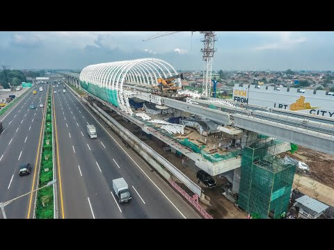 ADHI KARYA - PROGRESS 28 FEBRUARI 2019 LRT PROJECT