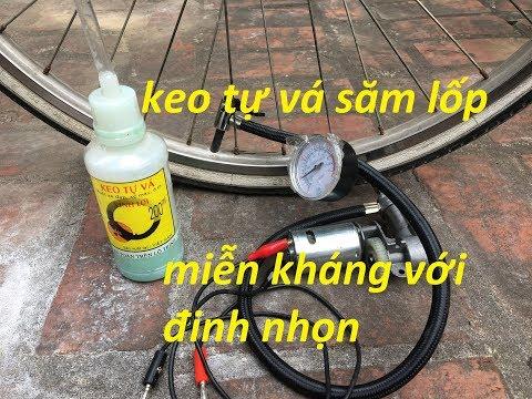 keo tự vá lốp chống đinh liệu có thực sự hiệu quả ??? - Thời lượng: 10 phút.