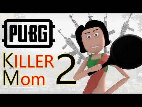 PUBG - Killer Mom Part 2 | पब जी किलर माँ 2 | Pubg comedy | Goofy Works | Comedy toons