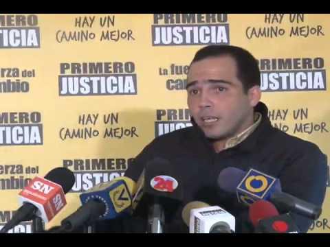 Primero Justicia: El gobierno debe dejar las excusas y asumir su responsabilidad por los problemas del país