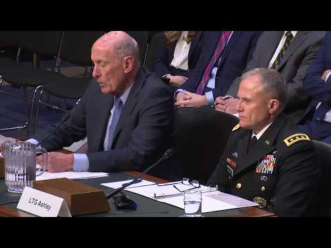 DIA Director at Senate Armed Services Committee on Worldwide Threat Assessment