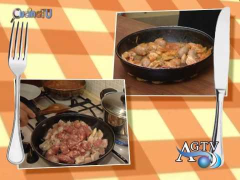 Cucina tu 35 puntata ospite Enza Musmeci