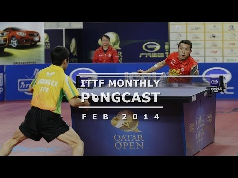 monthly - Join the ITTF's Monthly Pongcast as it looks at all the international table tennis action in February. This month the Pongcast reviews all the ITTF events th...