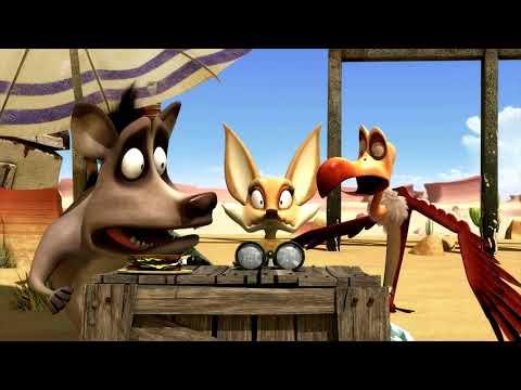 Oscars Oasis Godlizard Returns | Funny Cartoons For Kids