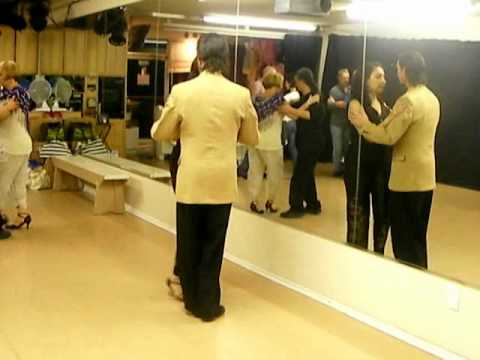 Intermediate Argentine Tango class with Marcelo Solis August 2010 – Part 1