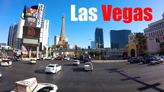 Driving down the entire Las Vegas Strip, from the Stratosphere Hotel and Casino at the north end to the Luxor at the south end. PLANNING A BUDGET TRAVELING T...
