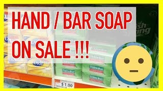 "Cheap bath bar soap and foaming / liquid hand soap on sale at local discount store location with no membership fees.  As you can see in the video, all the top brands are sold here at highly discounted prices when compared to the corner pharmacy or the grocery store.  The store is Big Lots.  Of course, it's no secret that you can get some name brand stuff for cheap here, but I didn't realize how cheap the soap was until I went to specifically look for soap!Link to EVEN BETTER DEAL (which I can't believe) on the Dial Antibacterial Deodorant Soap, Gold, 10 Count (Pack of 3) in this video: http://amzn.to/1RckfrC[The link above is an ""affiliate link."" This means if you click on the link and purchase the item, I will receive an affiliate commission. Regardless, I only recommend products or services I use personally and believe will add value to, you, the viewer. I am disclosing this in accordance with the Federal Trade Commission's 16 CFR, Part 255: ""Guides Concerning the Use of Endorsements and Testimonials in Advertising.""]The store carries Yardley soap, Dial soap, Dove just to name a few as well as many brands of foaming and liquid hand soap for bathroom and kitchen use.  There are popular licensed characters for kids so that they want to wash their hands and learn the importance of hygiene.  Not only will you find top brands like Ivory soap and Palmolive, but you'll have all the different types like unscented to scented and with added organic ingredients like lavender, oatmeal, honey, shea butter, peppermint, almond and lemon.  You need exfoliating soap?  They got that too.  Don't forget exfoliating and moisturizing soap.  If it's on the market, you'll find some near wholesale soap prices locally at Big Lots on sale without having to pay a member fee like at Costco and Sam's Club.  You also won't have to buy in huge bulk to get the cheap pricing.  Of course, buying online is cheaper, but you'll have to wait.  Big Lots is a great alternative when it comes to price and convenience, IMO.Man, it's all about buying in bulk.  Of course, I shouldn't be surprised that the online price for even more soap bars is cheaper than in-store prices.  But, that's just so cheap.  Even the Yardley Oatmeal and Lavender soap is cheaper on Amazon, but by just a little bit.  If you're looking to save money on toiletries like hand and bar soap, definitely check out Big Lots or the link above for almost wholesale soap prices on sale.For more deals and things on sale, check out our Deals / On Sale playlist at https://www.youtube.com/playlist?list=PLmL7JMU7aON8jQzK8adO7cYaTcfF1qBzl.  There's always something on sale or deals going on from seasonal sales, clearance sales and just promotional deals.  People are always looking to save money and retailers are always looking for ways to move product.  Whether it's a legitimate sale or lowered pricing to make it seem like a cost-savings, there's always some kind mark down on items for various reasons.  Old stock making way for new stock is a great way to save money.  Of course, there are perishables that need to be moved to not lose money.  Also, there's the annual holiday sales, Black Friday, Cyber Monday and popular holiday sales like President's Day, Labor Day and even after Christmas sales.  Deep discounts can be found from things bought in massive bulk so that the consumer can benefit from lower pricing.  Find it all in your deals / sale playlist.For more household supplies videos, check out our Home / household supplies playlist at https://www.youtube.com/playlist?list=PLmL7JMU7aON_sYVKXcQOkJG2hG9UBh9Gc.  Home and household products are things you will always need like household cleaners, supplies and toiletries.  There's always room for reviews and features here on deals and things for sale.  From mens shaving razors to the best toilet paper or the latest and greatest cleaning supplies on sale, you'll find it all in this playlist.  If you have any requests for products you'd like to see a video for, send a message!  Your thoughts and suggestions are always welcomed.  Thanks for watching!For more info on deals and things on sale, check out our website at: http://www.MySuLonE.Com.[NOTE: This is NOT a paid product placement or endorsement; however it has been designated as such in the settings of this video to inform Youtube that an affiliate link is present within the content of this description.]Copyright 2016 MySulone.Com. All rights reserved. All other company, product and/or service names used in this video are solely for the purposes of identification. All trademarks are the property of their respective owners."