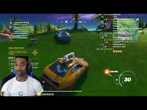 FlightReacts Playing Fortnite Before Season 4... (COMES UP CLUTCH!)