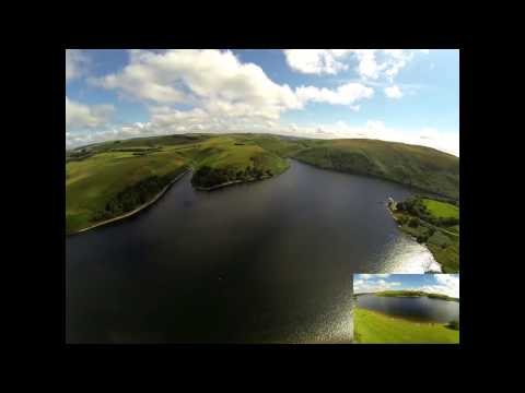 Llanidloes Drone Video