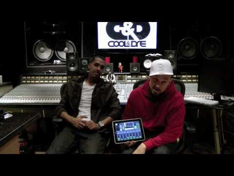 Cool & Dre talk about GrooveMaker Cool & Dre - cut hard-hitting records for the clubs on your iPhone