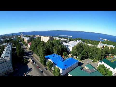 Petrozavodsk Drone Video