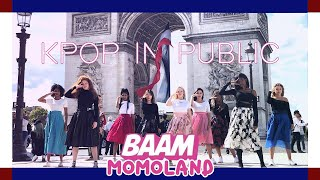 Video [DANCING TO KPOP IN PUBLIC PARIS] MOMOLAND (모모랜드) - BAAM (배앰) dance cover by RISIN'CREW from France MP3, 3GP, MP4, WEBM, AVI, FLV Januari 2019