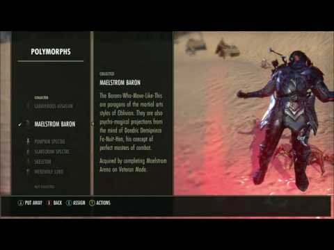 All free collection items in ESO ( outfits, pets etc. ) DLC and non DLC