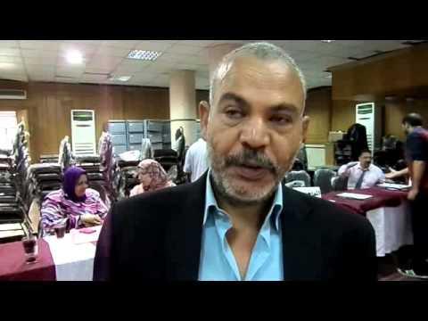 محمد مسعود يتقدم باوراق ترشحة على المستوى العام بنقابة المحامين