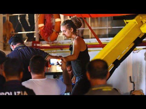 Italien: »Sea-Watch 3«-Kapitänin Rackete wurde auf Lamp ...