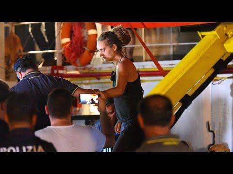 Italien: »Sea-Watch 3«-Kapitänin Rackete wurde auf La ...