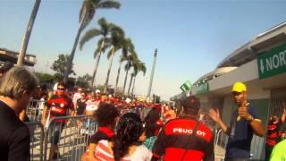 Maracanã 12/10/2014 Flamengo 3 x 0 Cruzeiro entrando no portão F norte