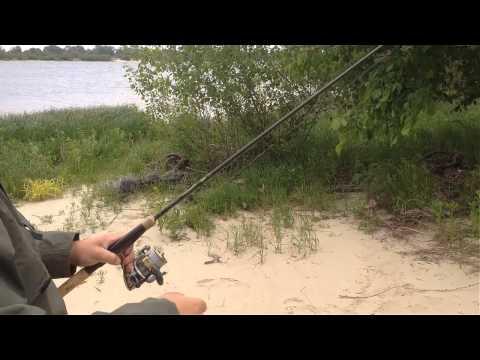 рыболовные спинингом видео