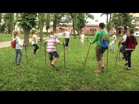 У Житомирі вперше проходить проект «Скандинавська ходьба і діти»