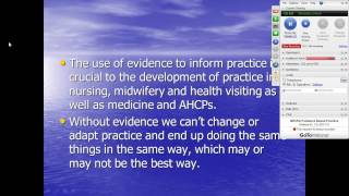2013 10 04 10 30 NRS102 Evidence Based Practice