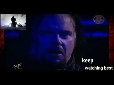 The Undertaker Returns after Kane burns him   720p
