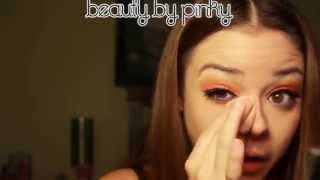 Blue Hot Flame makeup tutorial - Beauty by Pinky - YouTube