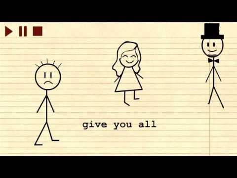 When I was your Man by Bruno Mars (Animation) (видео)