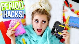 Period LIFE HACKS! Make Your Period EASIER!  | Aspyn Ovard by Aspyn Ovard