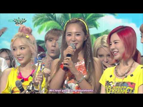 [ENG SUB] 150717 SNSD Girls' Generation 'PARTY' Win (100th Win)