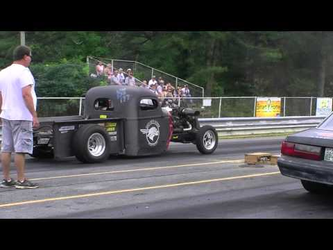 Turbo rat rod vs. Fox Body Mustang