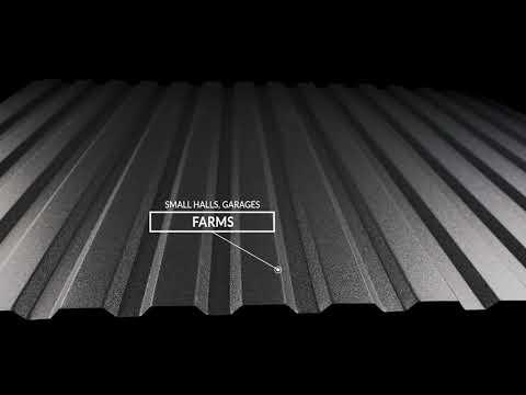 Hornval E12 - Homlokzati trapézlemez