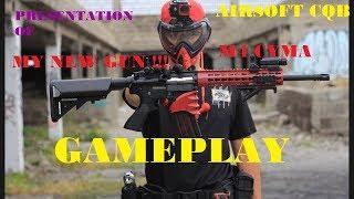 6. Presentation of My New Gun - CYMA M4 Gameplay Airsoft CQB