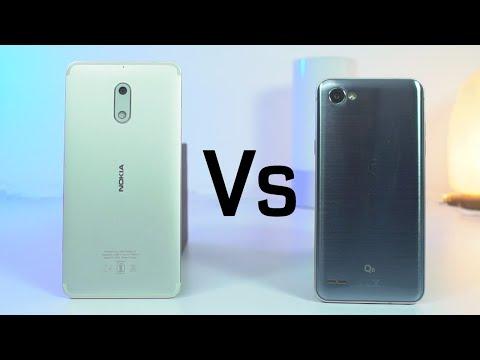 Nokia 6 vs LG Q6 Speed Test