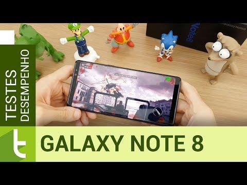 Desempenho do Galaxy Note 8  Teste de velocidade oficial do TudoCelular