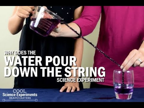 Pouring Water into a Glass Experiment