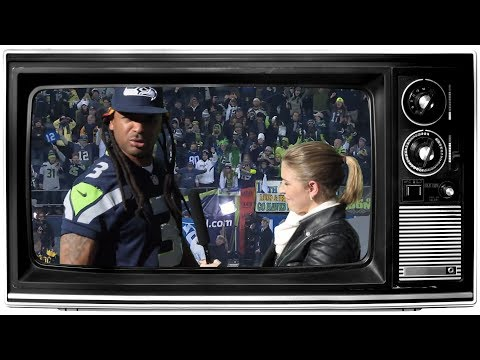 Richard Sherman Seahawks Post Game Parody - Mike Epps TV