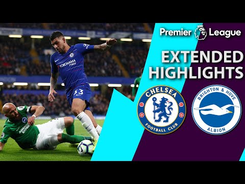 Chelsea V. Brighton | Premier League Extended Highlights | 4/3/19 | Nbc Sports